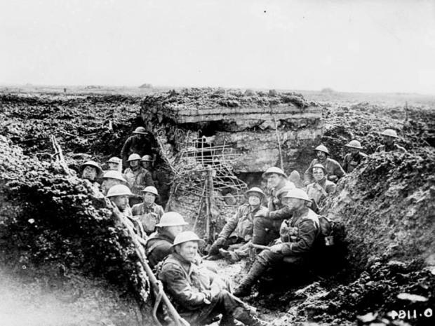 Soldados de la Primera Guerra Mundial
