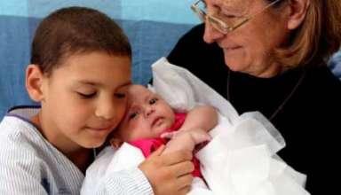 Teresita la bebe que salvo milagrosamente a toda su familia 384x220 - Teresita, la bebé que salvó milagrosamente a toda su familia del trágico accidente de tren en Santiago