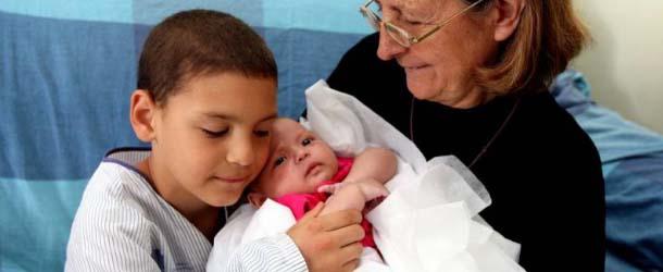 Teresita, la bebé que salvó milagrosamente a toda su familia del trágico accidente de tren en Santiago