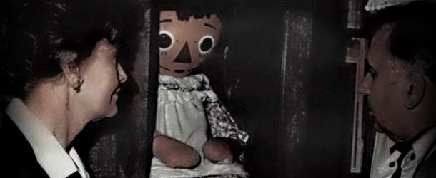 Annabelle, la verdadera muñeca poseída