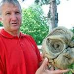 """Alcalde croata afirma haber encontrado una """"cabeza extraterrestre"""""""