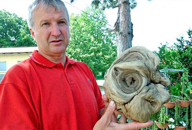 "Cabeza extraterrestre - Alcalde croata afirma haber encontrado una ""cabeza extraterrestre"""