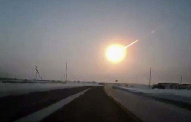El meteorito de Chelyabinsk