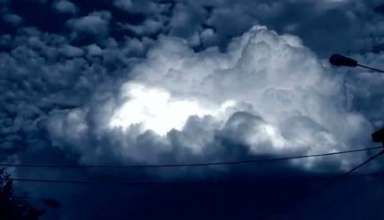Extrana nube en Belgica 384x220 - Extraña nube en Bélgica, ¿fenómeno ovni o anomalía atmosférica?