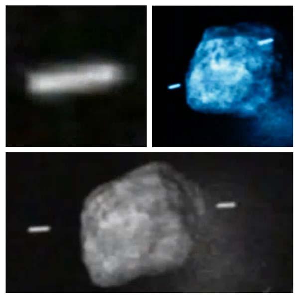 Ison 1 - Fotografía de la NASA muestra dos OVNIS acompañando al cometa ISON
