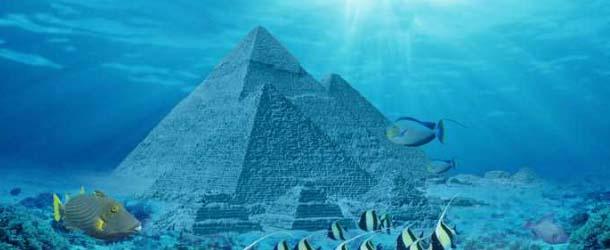 Misteriosa piramide submarina - ¿Se ha descubierto la Atlántida? Hallada una misteriosa pirámide submarina cerca de las Islas Azores