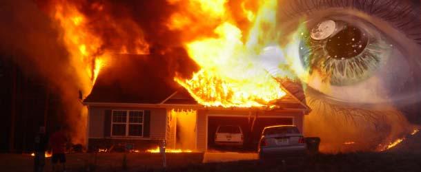 Premonicion - Una niña salva a su familia de un incendio mediante una premonición