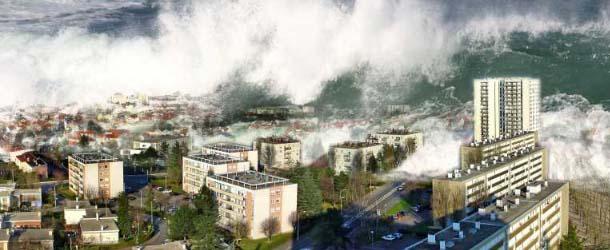 """Las profecías se están cumpliendo: """"Un gran tsunami devastará las costas de California"""""""
