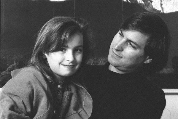 Steve Jobs y Chrisann Brennan
