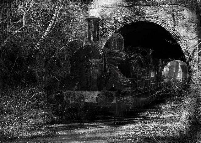 Apariciones fantasmales tren - El tren fantasma de Lincoln
