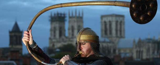 El sonido de un antiguo cuerno advierte del apocalipsis vikingo