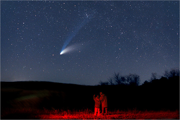 Cometas y meteoritos - Fuerzas demoníacas acompañan a los cometas y meteoritos