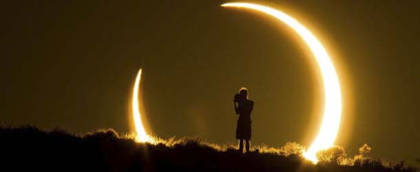 Extraño eclipse solar híbrido, ¿anuncia el fin de los tiempos?