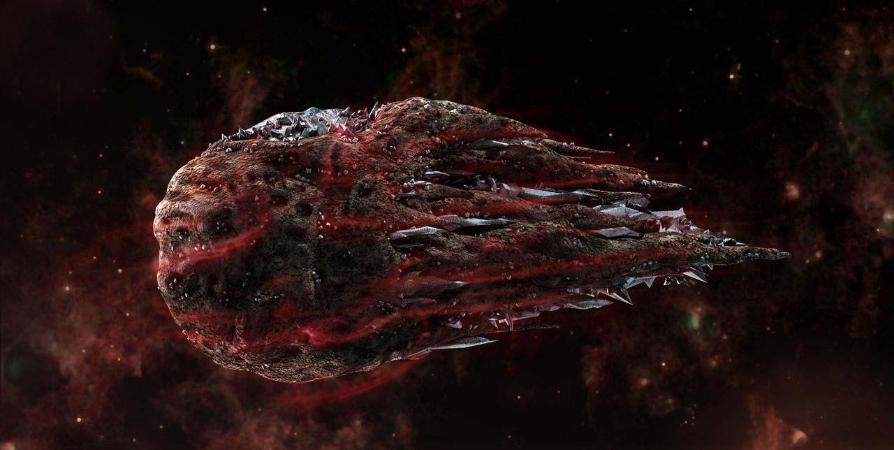 Fuerzas demoniacas cometas - Fuerzas demoníacas acompañan a los cometas y meteoritos