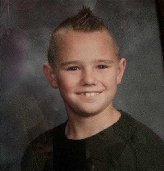 Nino fallecido Una fotografía muestra el rostro de un niño fallecido en el tornado de Oklahoma, ¿un ángel de la guarda?