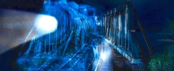 Tren fantasma Lincoln - El tren fantasma de Lincoln