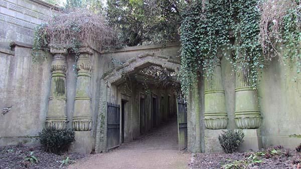 Cementerio Highgate El vampiro del cementerio de Highgate