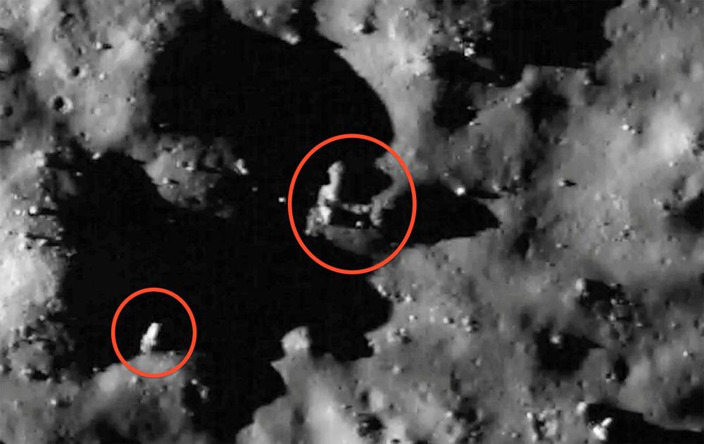 Estructuras extraterrestres ¿Es la Luna un satélite artificial?