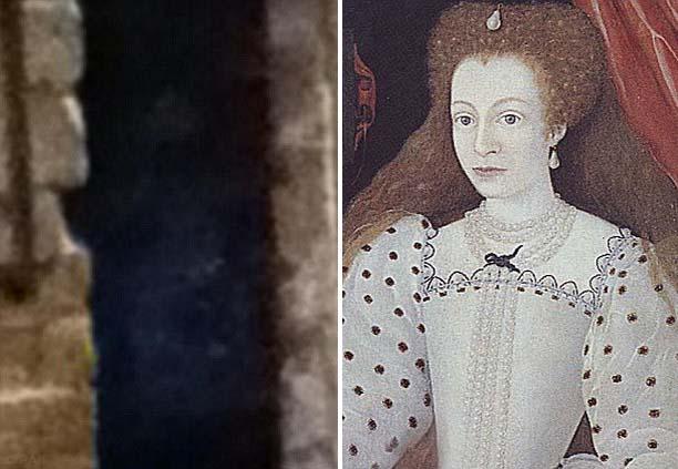 Fantasma Dama Blanca - Fotografiado el fantasma de la Dama Blanca en la Abadía de Rufford