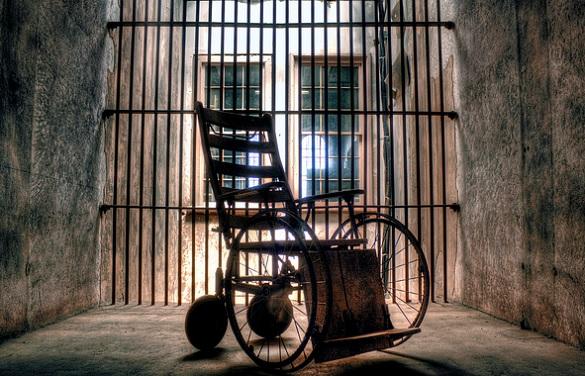 Fantasmas Charleston Los fantasmas de la antigua cárcel de Charleston