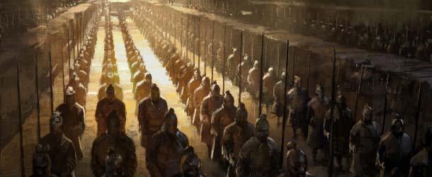 Arqueólogos afirman que los guerreros de terracota poseían armas adelantadas a su tiempo