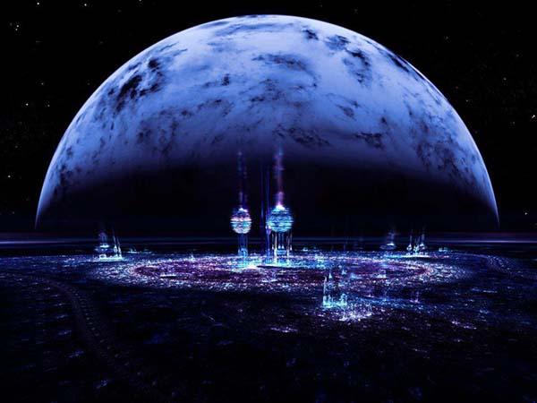 Luna control humanidad