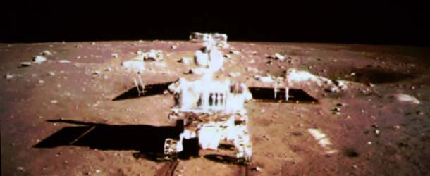 Rover lunar chino - El rover lunar chino revela que Estados Unidos no pisó la Luna