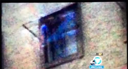 Aparicion fantasmal ventana Hotel Cecil Fotografía muestra una aparición fantasmal en una de las ventanas del Hotel Cecil de Los Ángeles