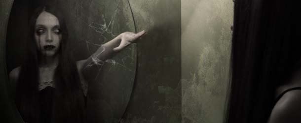 Aterradoras presencias en los espejos