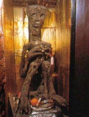 Demonio Usa - Momias de demonios en los templos budistas de Japón