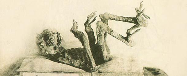 Momias de demonios en los templos budistas de Japón