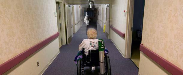 Fantasmas atormentan a los residentes de una residencia geriátrica