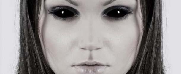 ninos ojos negros - Aterradores encuentros con niños de ojos negros