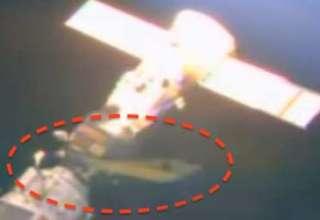 ovni estacion espacial internacional 320x220 - Nuevas imágenes de la NASA muestran un OVNI acoplado en la Estación Espacial Internacional