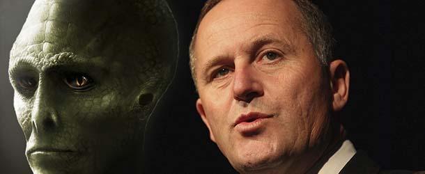 El Primer Ministro de Nueva Zelanda declara públicamente que no es un ser reptiliano