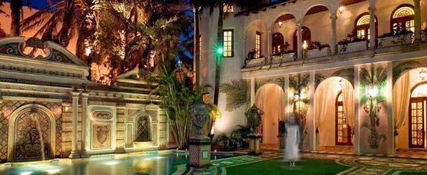 beckham mansion embrujada versace - Los Beckham compran la mansión embrujada de Versace