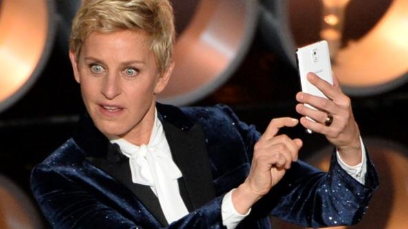 Ellen DeGeneres aterrorizada fantasma