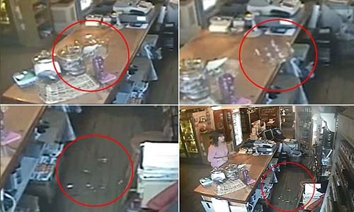 fenomenos paranormales tienda - Una cámara de vigilancia capta fenómenos paranormales en el interior de una tienda