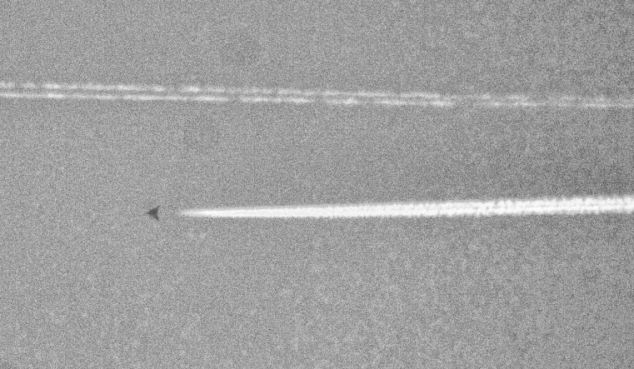 ovni triangular fotografiado texas OVNI triangular fotografiado en Texas