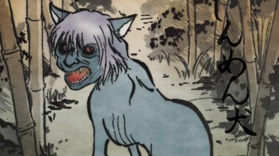perros rostros humanos - Jinmenken, los perros con rostros humanos de Japón
