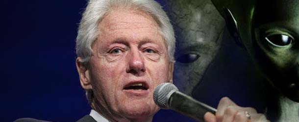 bill clinton invasion extraterrestre - Bill Clinton dice que una invasión extraterrestre podría ser la mejor manera de unir a todos los países del mundo