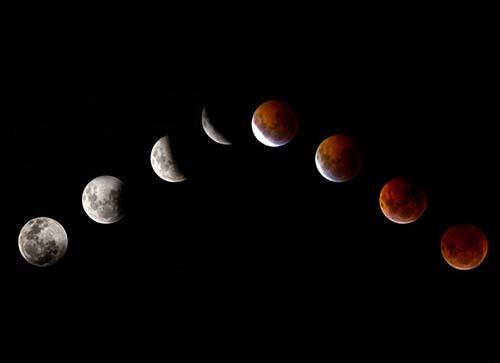 """lunas sangre - ¿El mundo llegará a su fin después de las """"cuatro lunas de sangre""""?"""