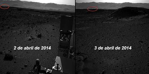 luz artificial en marte - Una nueva fotografía de la NASA muestra una luz artificial en Marte: ¿evidencia de bases extraterrestres?