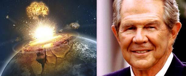 El Pastor evangélico Pat Robertson dice que un asteroide podría destruir la Tierra la próxima semana