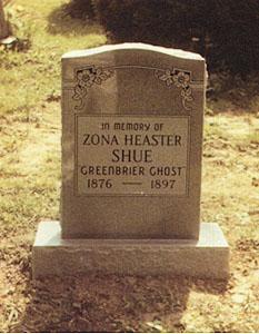 tumba elva zona heaster El caso Greenbrier, el fantasma que ayudó a resolver su propio crimen