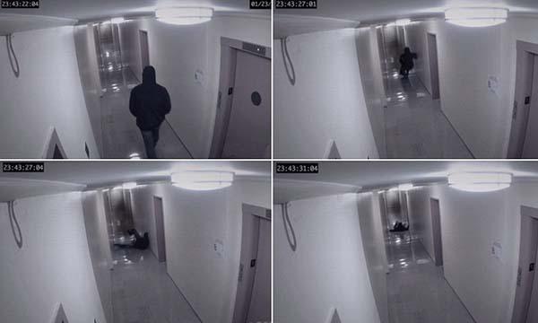 ataque fantasma - Se reabre el debate sobre el ataque fantasma captado por una cámara de seguridad