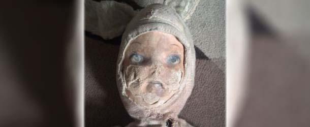 ebay muneca poseida - Venden en eBay una verdadera muñeca poseída que atacó un niño