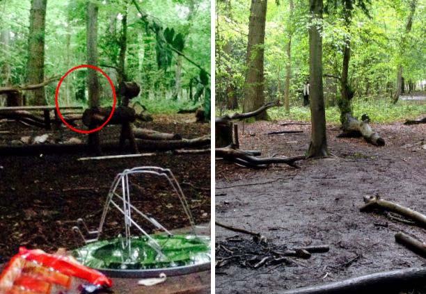 "fantasma bruja de blair Dos campistas fotografían al fantasma de la ""Bruja de Blair"" en un bosque de Inglaterra"