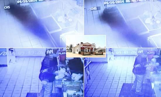 sombra forma humana estados unidos - Graban una misteriosa sombra en forma humana en un restaurante de Estados Unidos