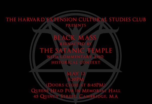 universidad harvard misa satanica Estados Unidos se enfrenta al resurgimiento del Satanismo
